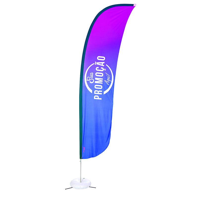 Eco flag vela 350 x 85 cm