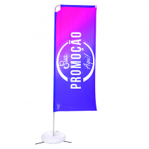 Eco flag Box 300 x 80 cm