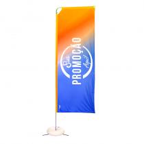 Eco flag Box 350 x 90 cm
