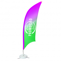 Eco flag Vela 300 x 80 cm