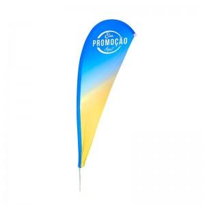 Eco flag Gota 350 x 100 cm