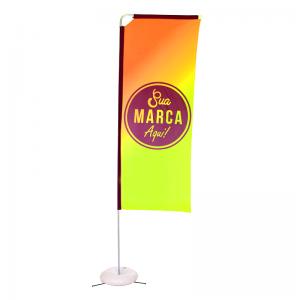 Eco flag Box 250 x 70 cm