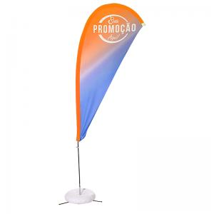 Eco flag Gota 250 x 90 cm